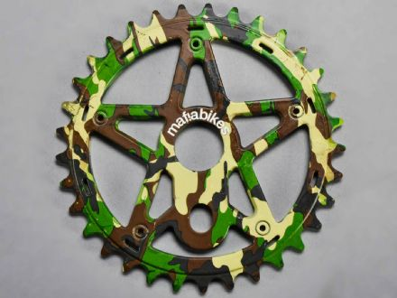 Mafia Gully Sprocket Camo 24T